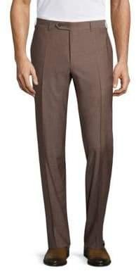Canali Regular-Fit Wool Trouser
