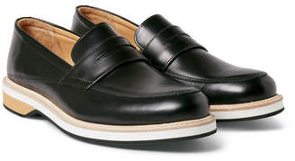 WANT Les Essentiels Marcos Leather Penny Loafers