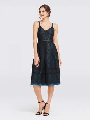Draper James Collection Floral Row Lace Dress