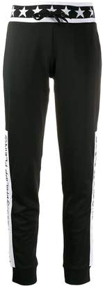 Philipp Plein graphic track pants