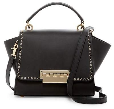 ZAC Zac Posen Eartha Iconic MIC GRMT Leather Crossbody Bag