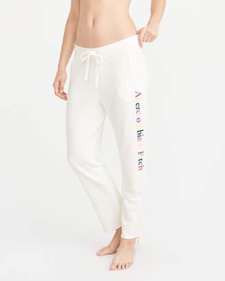 Abercrombie & Fitch Step-Hem Logo Sweatpants
