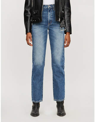 SLVRLAKE London straight-leg denim jeans