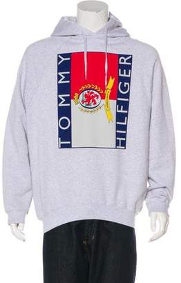Vetements x Tommy Hilfiger 2018 Graphic Raglan Hoodie