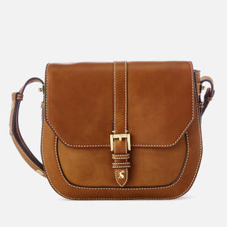 Joules Women's Saddle Leather Bag - Tan
