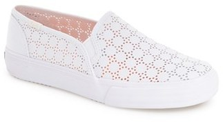 Keds ® 'Double Decker' Perforated Slip-On Sneaker (Women) $54.95 thestylecure.com