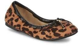 Sam Edelman Girl's Cheetah Print Ballet Flats