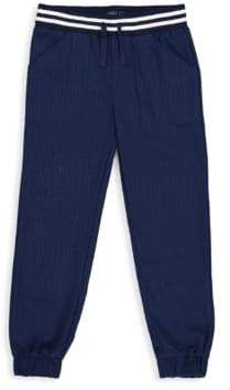 Andy & Evan Toddler's& Little Boy's Seeksucker Cotton Jogger Pants