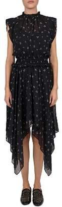 The Kooples 50's Floral Handkerchief Dress