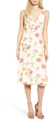 Women's Privacy Please Wilson Wrap Midi Dress $198 thestylecure.com