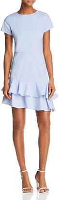 Aqua Seersucker Flounce Dress - 100% Exclusive