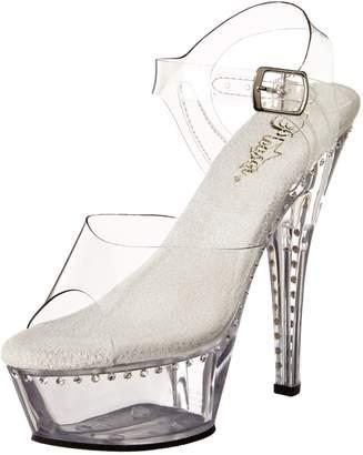 Pleaser USA Women's Kiss-208LS/C/M Platform Sandal