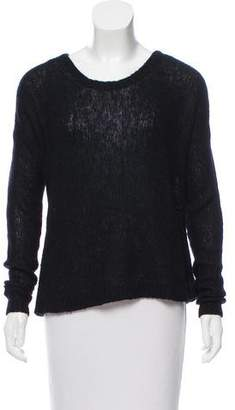 BLK DNM Scoop Neck Long Sleeve Sweater