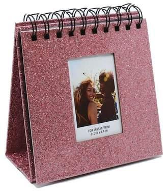 AUDIOLOGY Rose Gold Instax Glitter Flipboard Desk Album