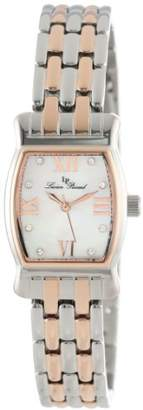 "Lucien Piccard Women's LP-12384-SR-02MOP ""Alca"" Two-Tone Stainless Steel Dress Watch"