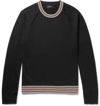 Joseph Contrast-Trimmed Jersey Sweater