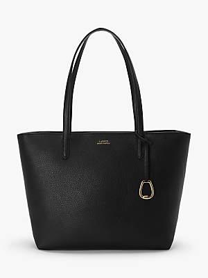 Ralph Lauren Ralph Medium Tote Bag, Black/Taupe