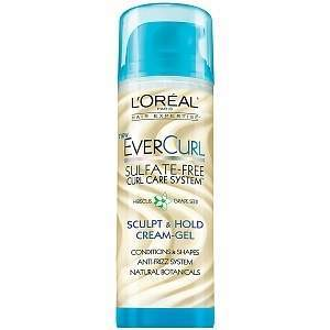 L'Oreal Hair Expertise EverCurl Sculpt & Hold Cream-Gel