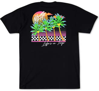 Neff Men Life a Trip Graphic T-Shirt