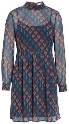 Ted Baker Colour by Numbers Allyy Heart Print Dress