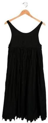 Rykiel Enfant Girls' Embroidered Sleeveless Dress