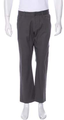 e8f72437b7afc Balenciaga Twill Straight-Leg Pants