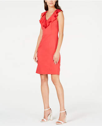 Trina Turk Alpina Ruffled A-Line Dress