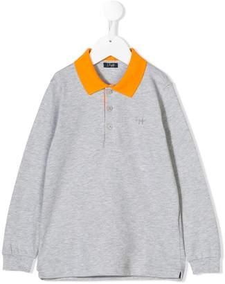Il Gufo contrasting collar polo shirt