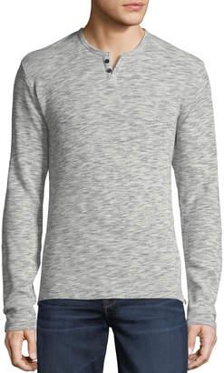 Joe's Jeans Men's Wintz Long-Sleeve Waffle Henley Shirt
