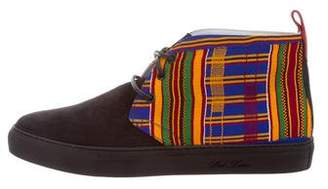 Del Toro Patterned Chukka Sneakers w/ Tags