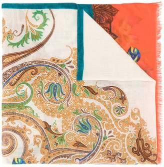 Etro floral-print scarf
