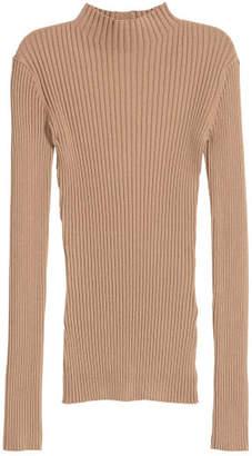 H&M Ribbed jumper - Beige