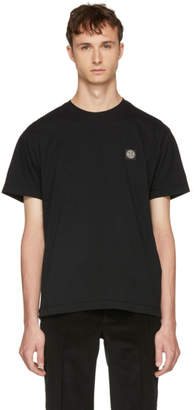 Stone Island Black Logo Patch T-Shirt