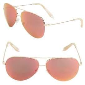 Victoria Beckham 64MM Double-Bridge Sunglasses