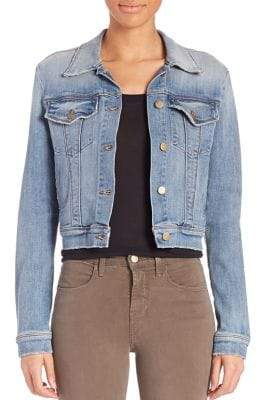 J Brand Harlow Denim Trucker Jacket