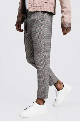 boohoo Heritage Gingham Smart Cropped Jogger
