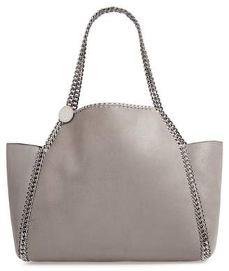 Stella McCartney Small Oleo Deer Reversible Faux Leather Tote