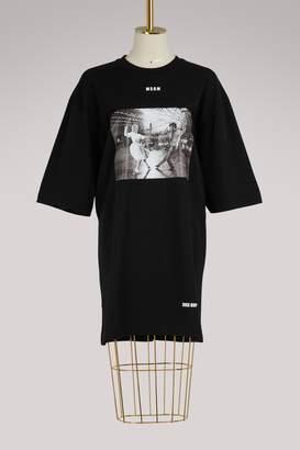 MSGM Coton printed T-shirt