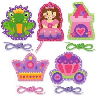 Stephen Joseph Pink Princess Lacing Cards