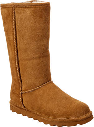 BearPaw Elle Tall Never Wet Water-Resistant Suede Boot