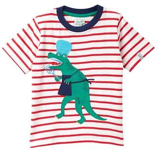 Lilly + Sid Applique Tee (Toddler & Little Boys)