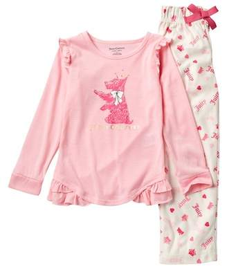 Juicy Couture Scottie Dog Pajama Set (Big Girls)