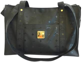 MCM Vintage Black Synthetic Travel Bag