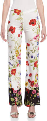 Blugirl Floral Palazzo Pants