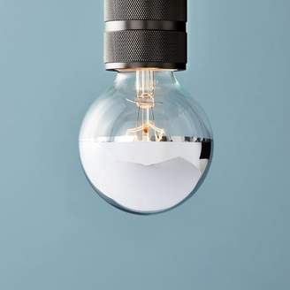 west elm LED Bulb - Silver-Tipped