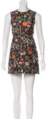 RED Valentino Jacquard A-Line Dress