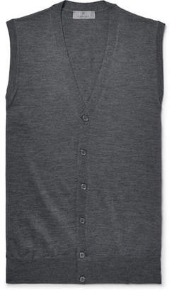 Canali Slim-Fit Merino Wool Sweater Vest