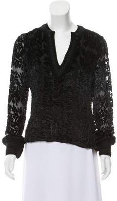 Andrew Gn Long Sleeve Top