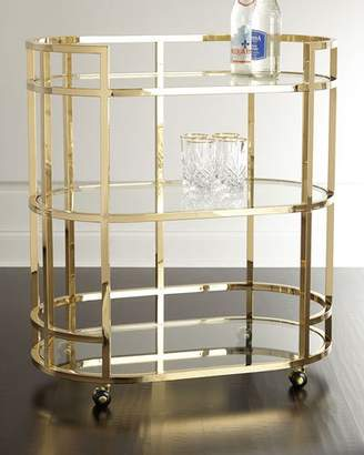 Interlude Home Bryne Bar Cart