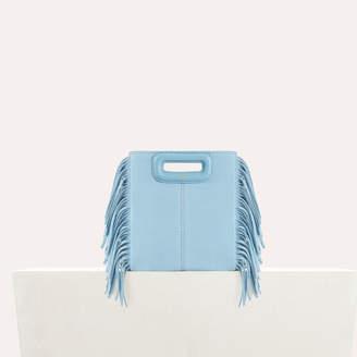 Maje Suede mini bag M with fringe